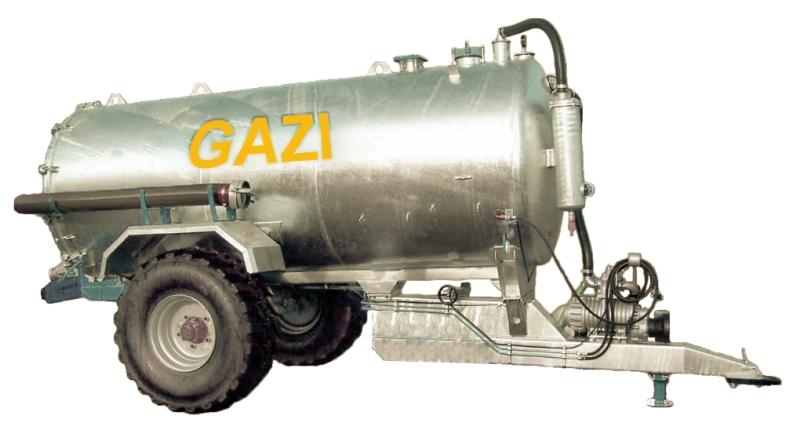 Sewage trailer GAZI